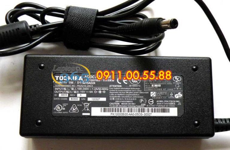 Sạc Laptop Toshiba Satellite L510