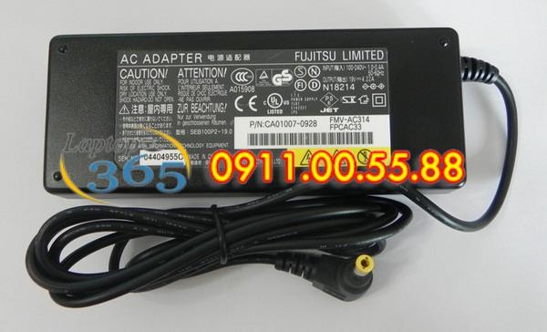 Sạc Laptop Fujitsu 19V-3,42A