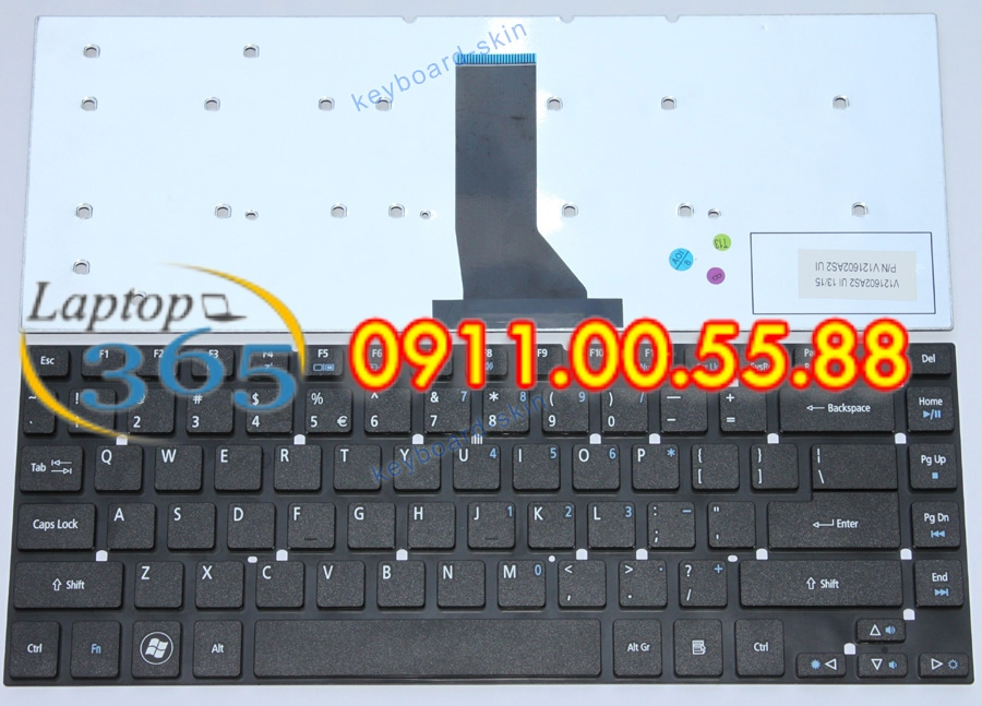 Bàn Phím Laptop Acer 4755