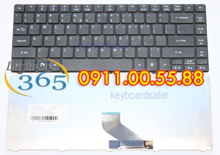 Bàn phím Laptop Acer Aspire V3-431