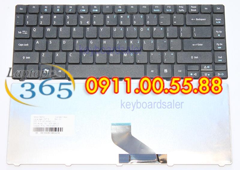 Bàn Phím Laptop Acer Aspire 4820