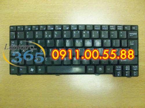 Bàn Phím Laptop Acer Aspire Gateway N214 (đen-trắng) series