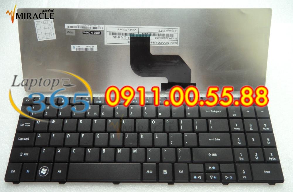 Bàn Phím Laptop Acer Emachines E627