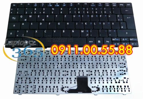 Bàn Phím Laptop Acer One 752 (đen-trắng)