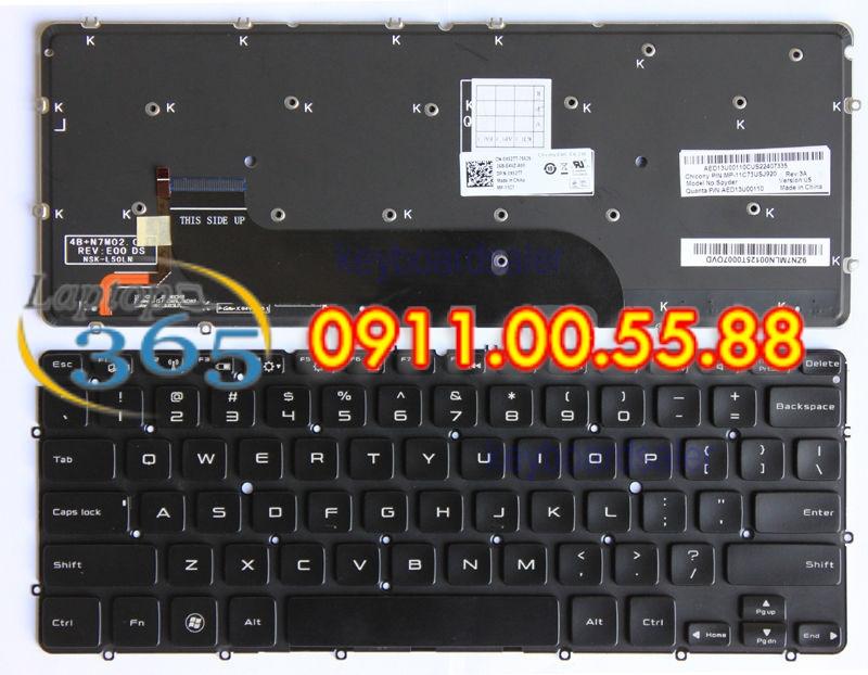 Bàn Phím Laptop Dell XPS Studio 1645 backlit