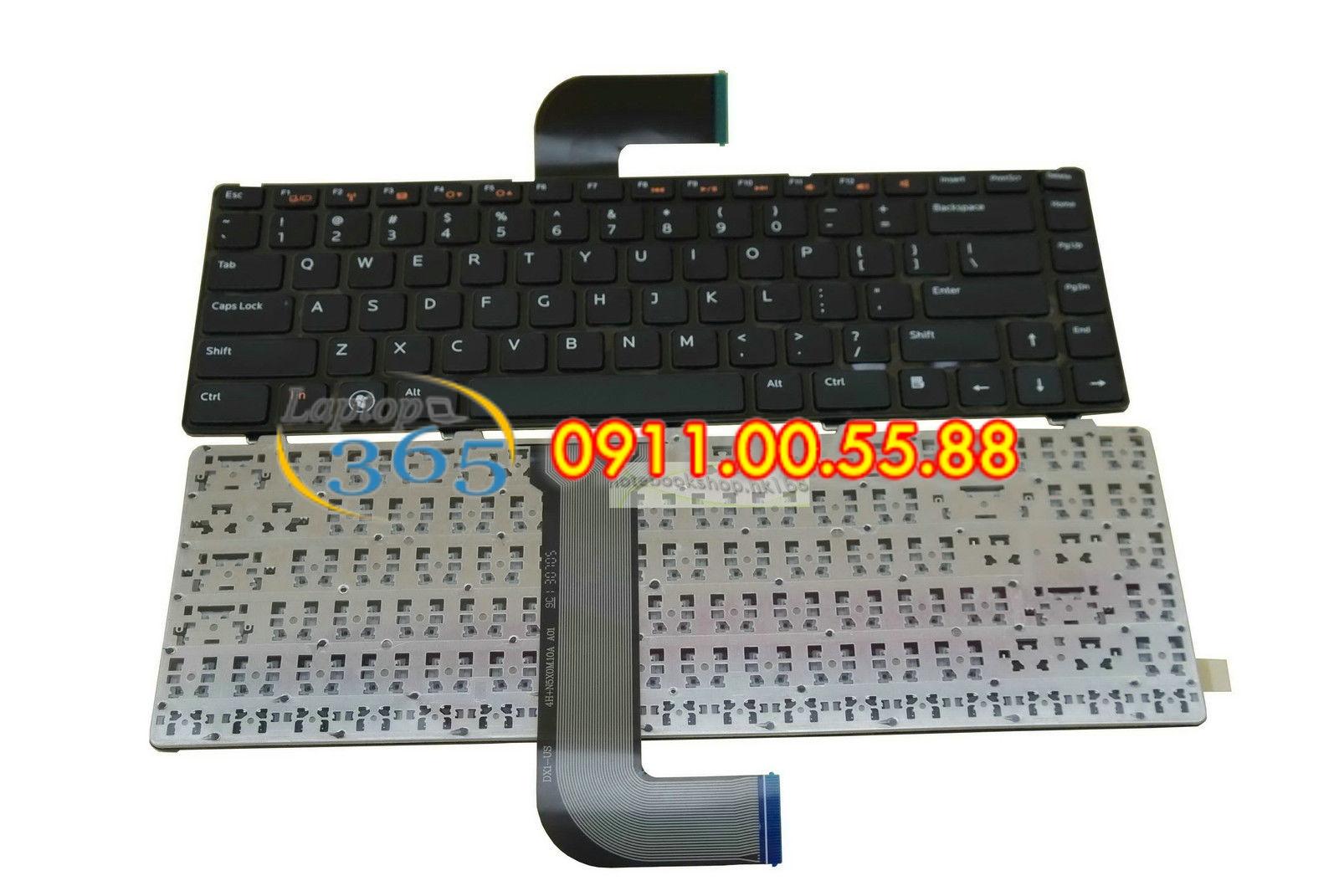 Bàn Phím Laptop Dell studio 1458