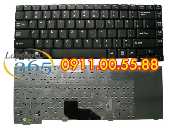 Bàn Phím Laptop Gateway MX3000