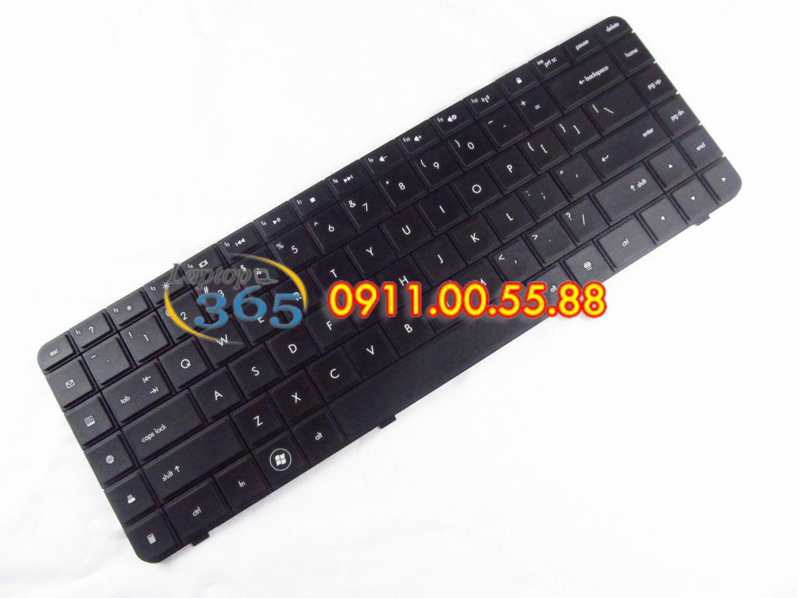 Bàn Phím Laptop HP CQ62 Black