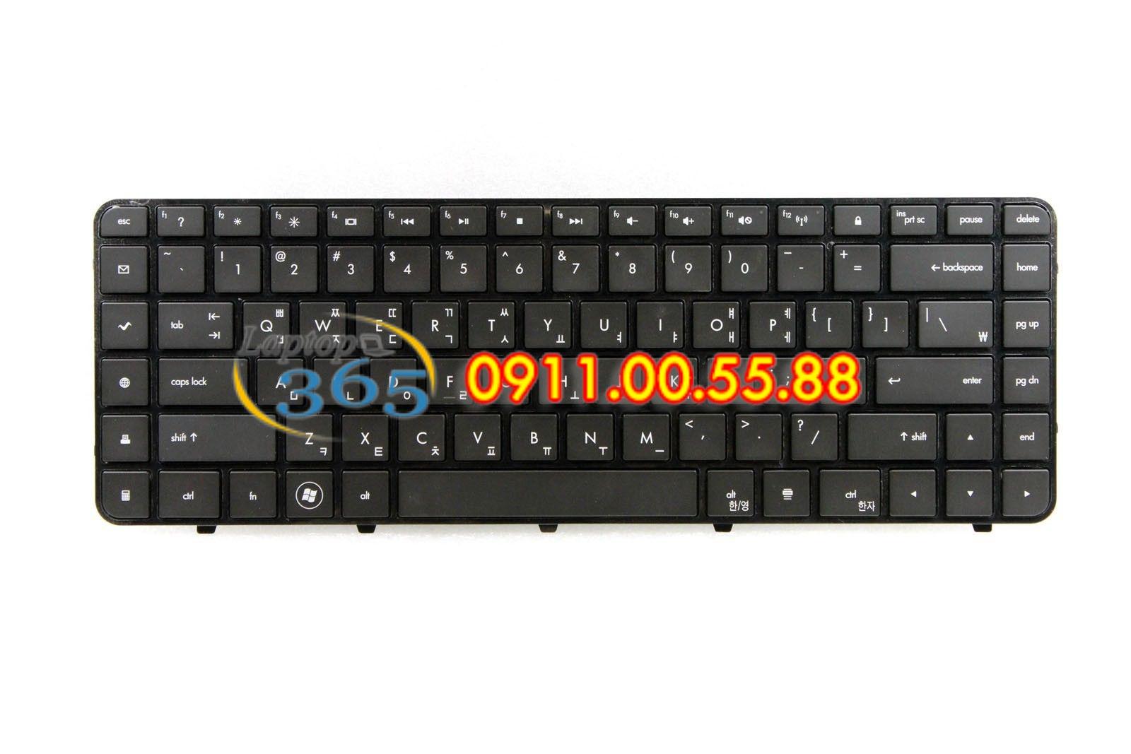 Bàn Phím Laptop HP DV6000-4000
