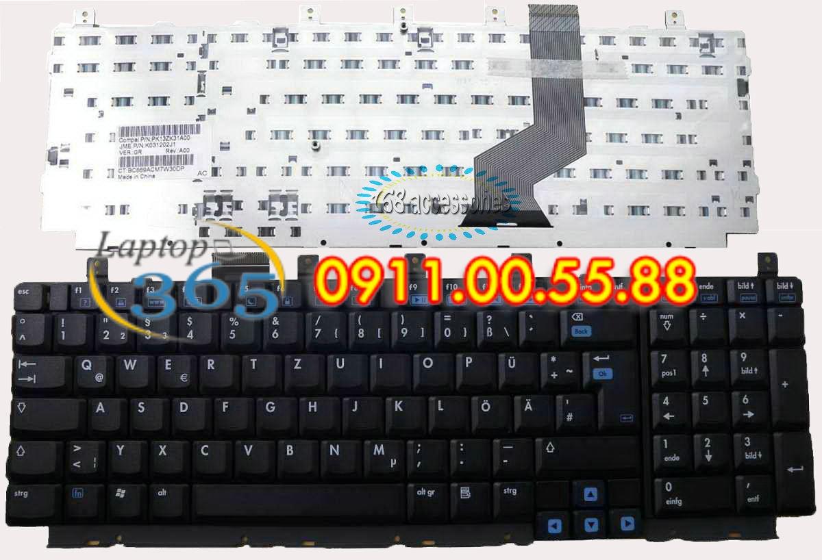 Bàn Phím Laptop HP DV9000
