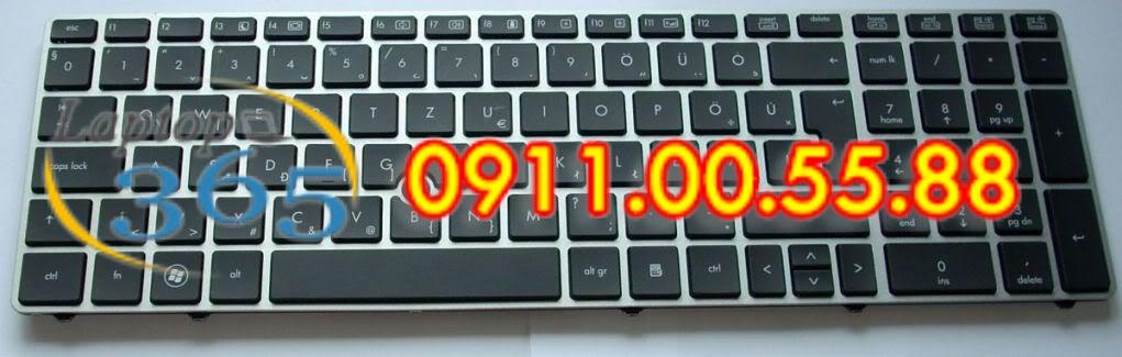 Bàn Phím Laptop HP EliteBook 8560P