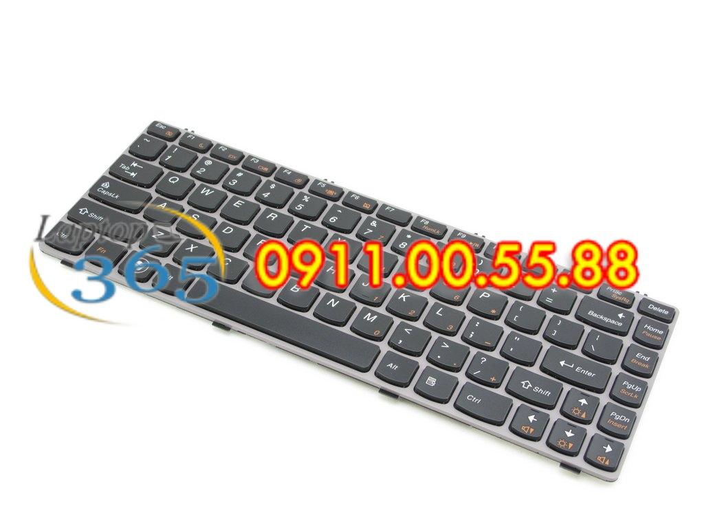 Bàn Phím Laptop Lenovo Ideapad Z460A