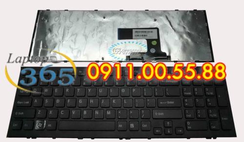 Bàn Phím Laptop Sony VPC - EL cáp công, series(đen-trắng)