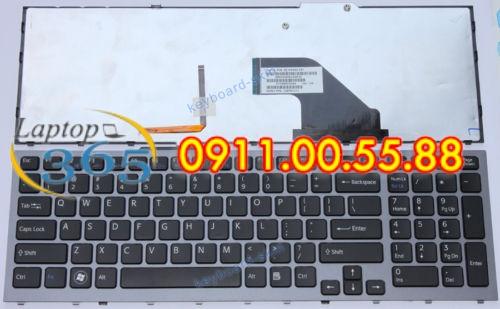 Bàn Phím Laptop Sony VPC F119 series