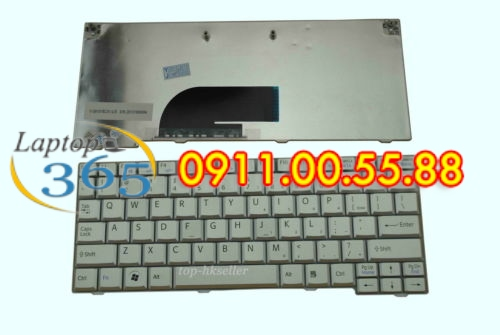 Bàn Phím Laptop Sony VPC M (đen trắng)