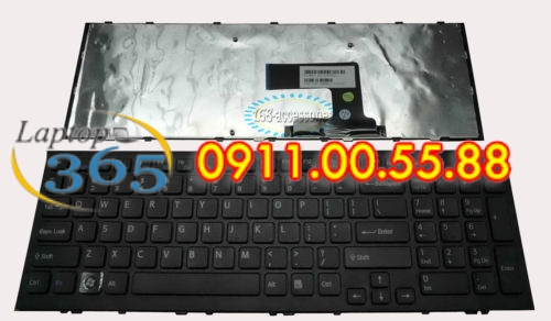 Bàn Phím Laptop Sony VPCEH cáp thẳng(đen-trắng)