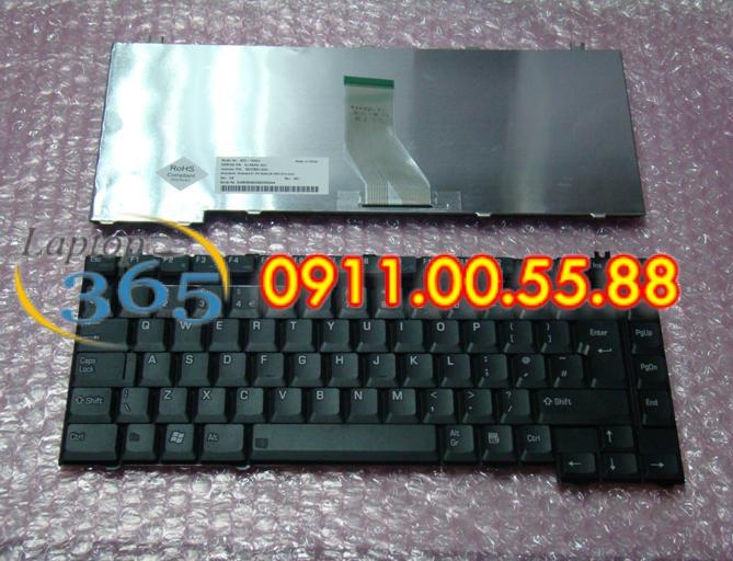 Bàn Phím Laptop Toshiba Satellite A50