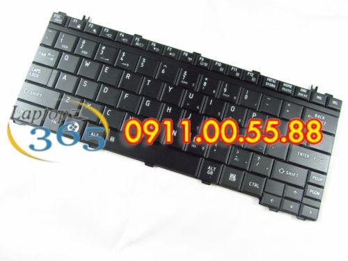 Bàn Phím Laptop Toshiba Satellite M900 Series (đen-trắng)