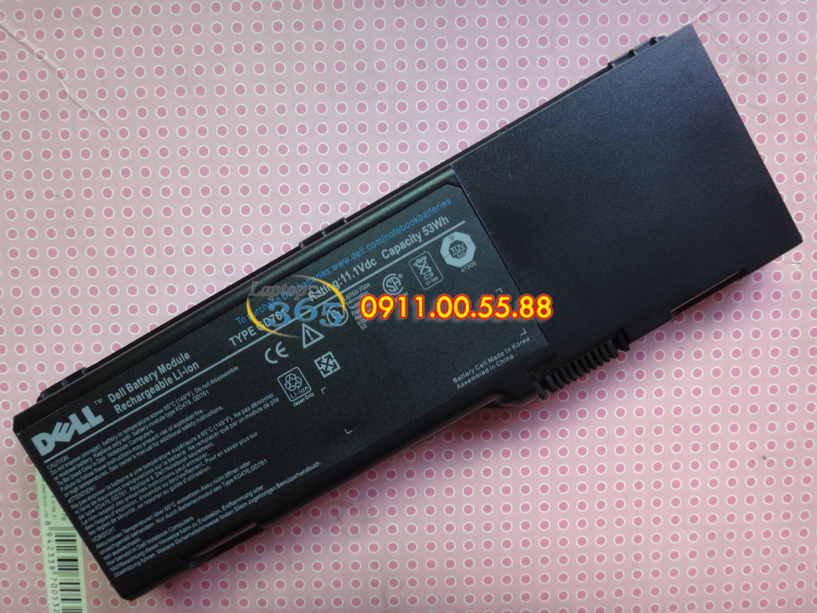 Pin Laptop Dell E1405