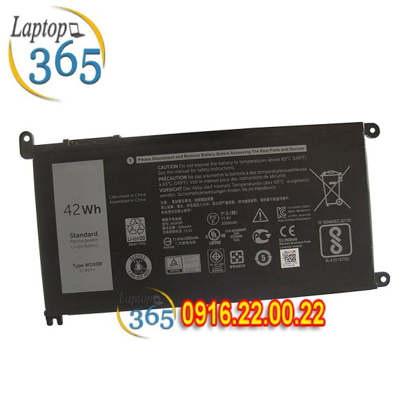 Pin Laptop Dell Inspiron 17 5000 5767 N5767