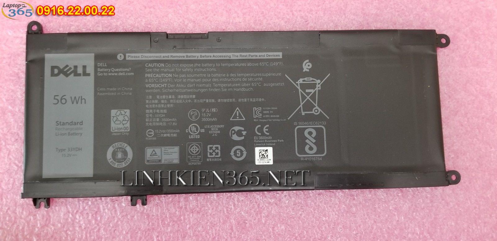 Pin Laptop Dell Vostro 3590