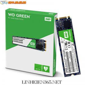 O cung SSD Western Digital Green 120GB M.2 2280 SATA 3