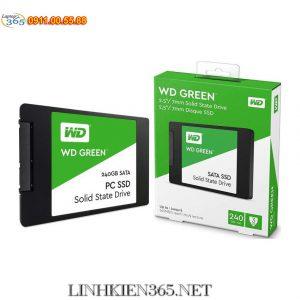 O Cung SSD Western Digital Green 240GB SATA 3