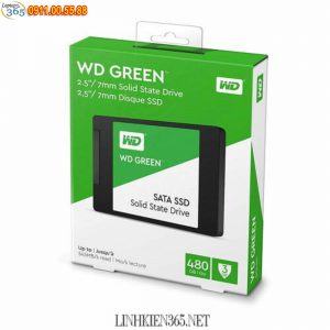 O Cung SSD Western Digital Green 480GB SATA 3