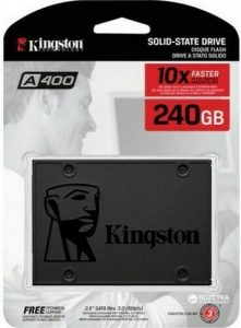 O cung SSD Kingston 240GB A400 chinh hang