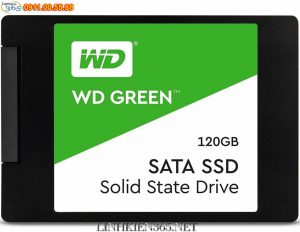 O Cung SSD Western Digital Green 120GB SATA 3